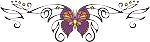 Decorative Butterfly Color Decal 2