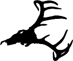 deer skull 6 decal