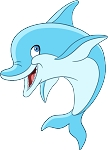 Dolphin Wall Decal 14