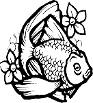 Tropical Fish Decal 17