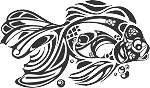 Tropical Fish Decal 20