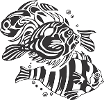 Tropical Fish Decal 21