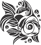 Tropical Fish Decal 22