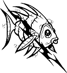 Tropical Fish Decal 2
