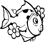 Tropical Fish Decal 8