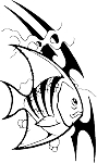 Tropical Fish Decal 9