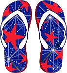 Flip Flop Colored Decal 10