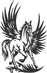 Pegasus Decal 13