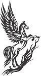 Pegasus Decal 17