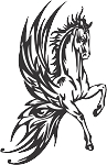 Pegasus Decal 19