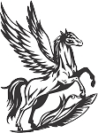 Pegasus Decal 21