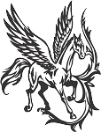 Pegasus Decal 22