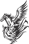 Pegasus Decal 23