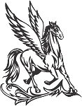 Pegasus Decal 24