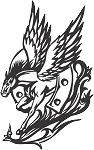 Pegasus Decal 25