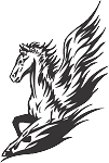Pegasus Decal 7