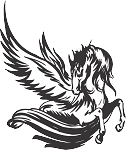 Pegasus Decal 8