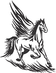 Pegasus Decal 9