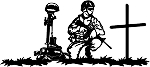 Soldier Prayer Decal 13