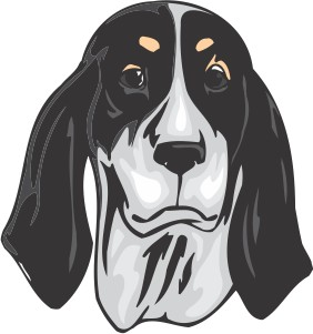 Ariegeois Dog Decal