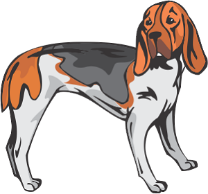 Artios Hound Dog Decal