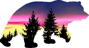 Scenery Bear Decal 4