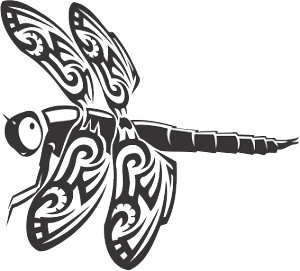 dragonfly 57 decal