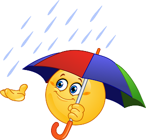 Umbrella Emoji 6 Decal