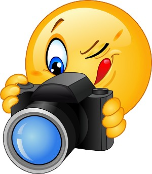 Photographer Emoji 81 Decal